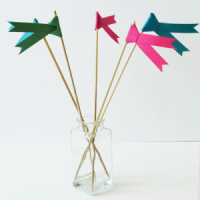DIY: Banderines de papel