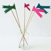 DIY: Banderines de papel