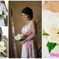 Ramos de novia de una sola flor
