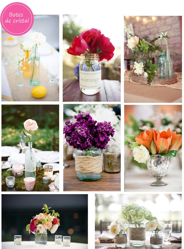 Centros de mesa para tu boda for Centros de mesa para salon