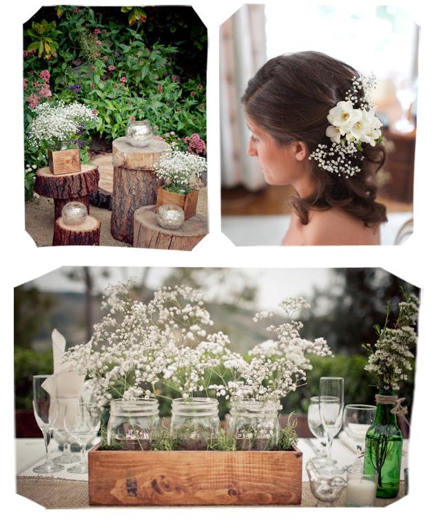 Paniculata para decorar tu boda