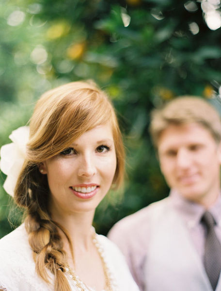 Peinado de novia: las trenzas están de moda