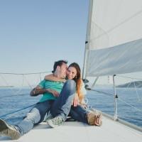 Preboda en un velero por Paraísos Artificiales