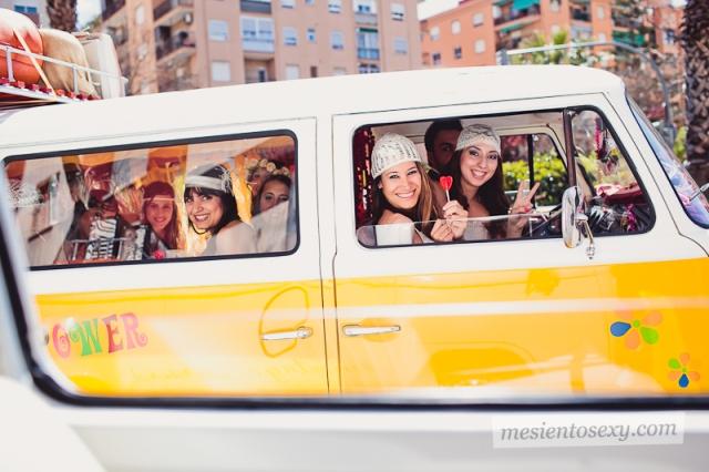 Furgoneta vintage para bodas y eventos