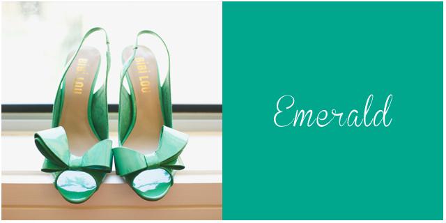 colores pantone primavera 2013 Esmeralda bodas