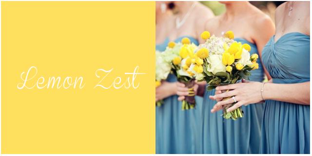 colores pantone primavera 2013 Lemon Zest  bodas