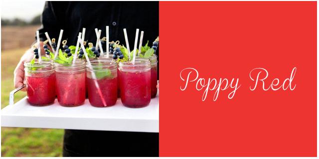 colores pantone primavera 2013 Poppy Red  bodas