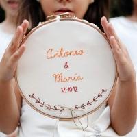 La decoración de la boda de Antonio y María, mi hermana y cuñado