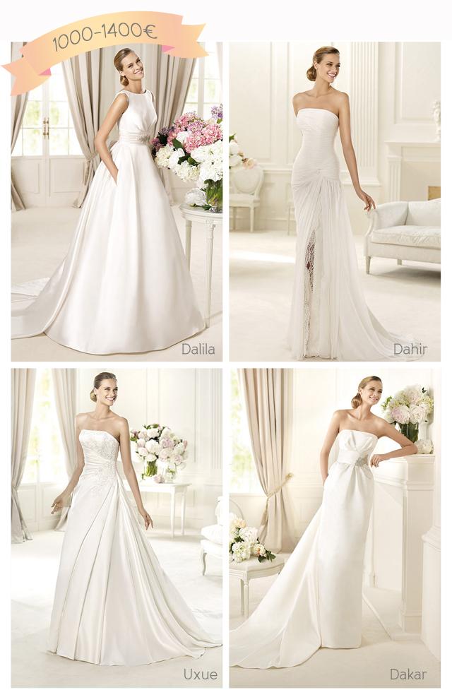 vestidos pronovias 2013 precios 1000 1400