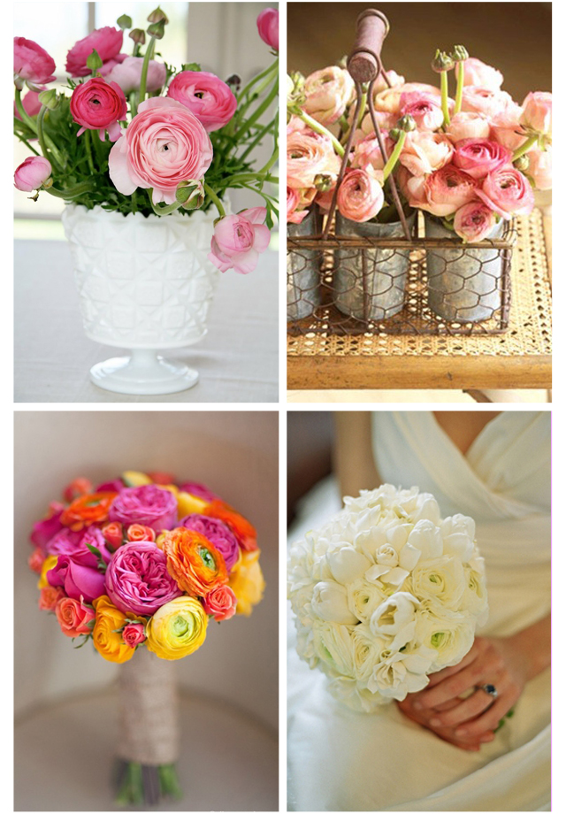 flores para tu boda ranuculos