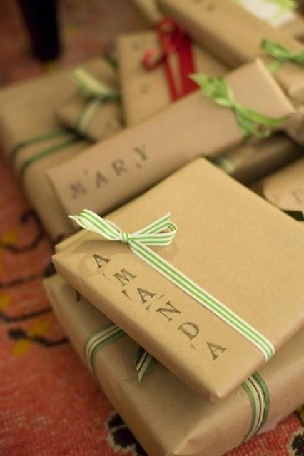 Ideas para envolver regalos 5