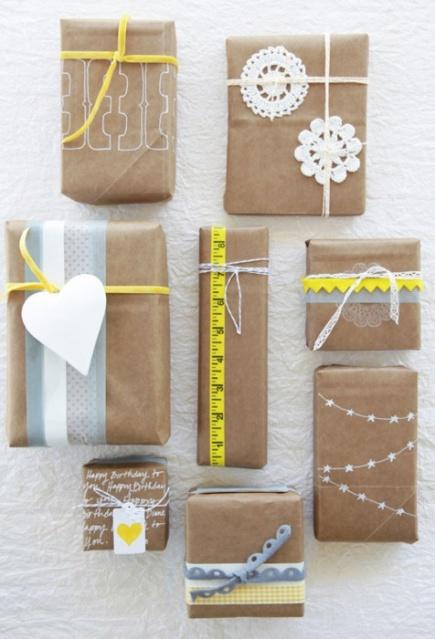 Ideas para envolver regalos 7
