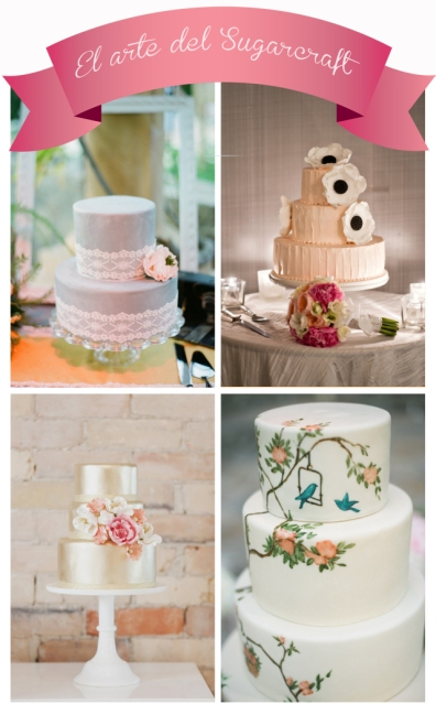 Pasteleria decorativa boda