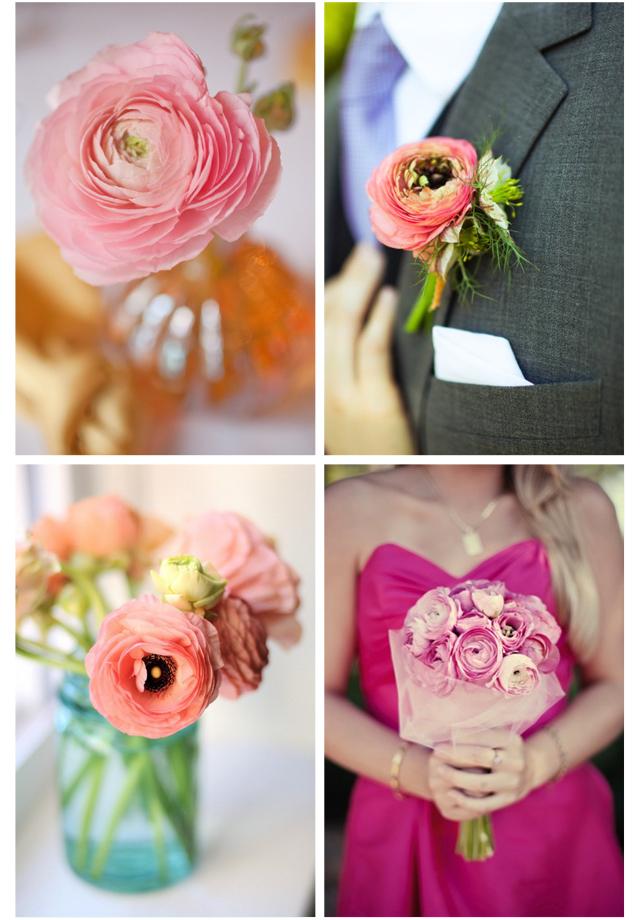 ranuculos flores para tu boda