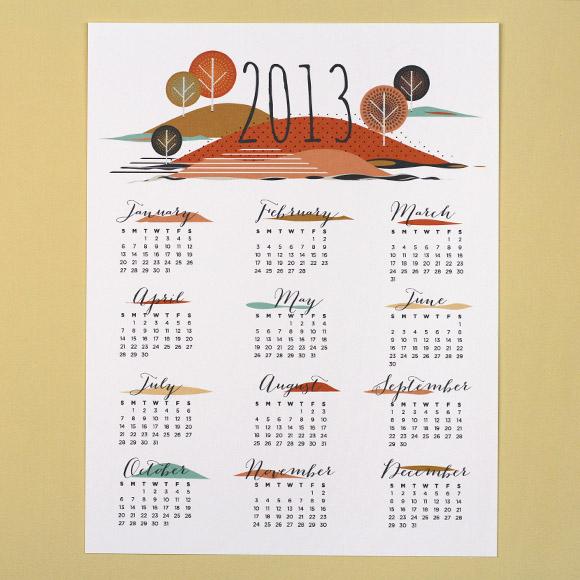 Calendario 2013 imprimible gratis 2