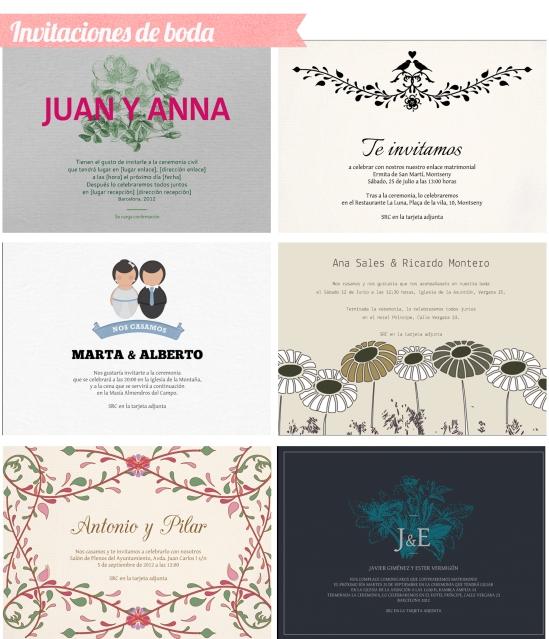 invitaciones de boda invita en un clic