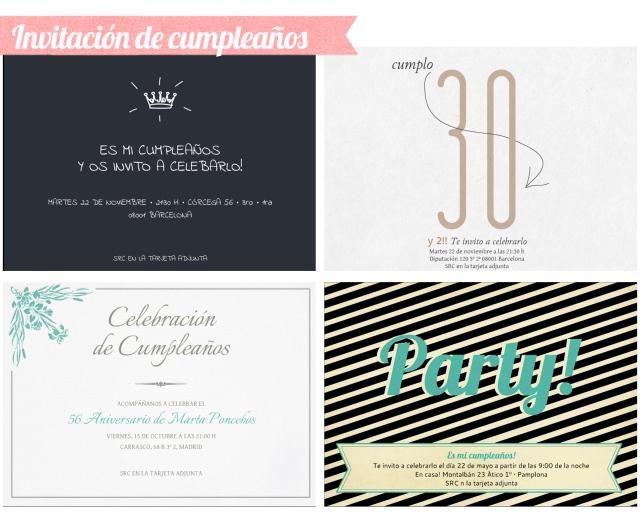 invitaciones de cumpleaños online invita en un clic