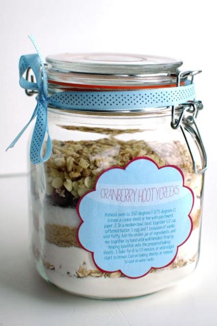 regalos para invitados galletas en un bote boda