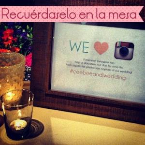 uso instagram en boda