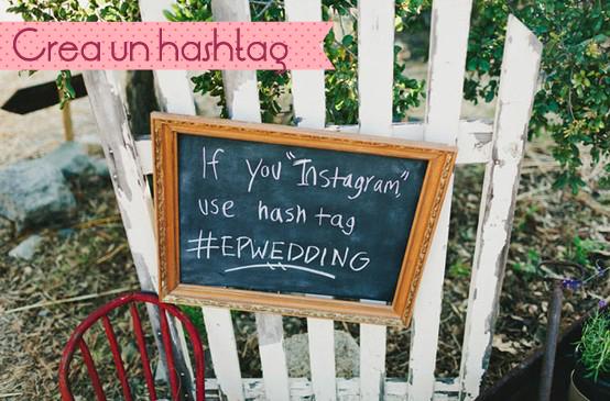 uso instagram en tu boda