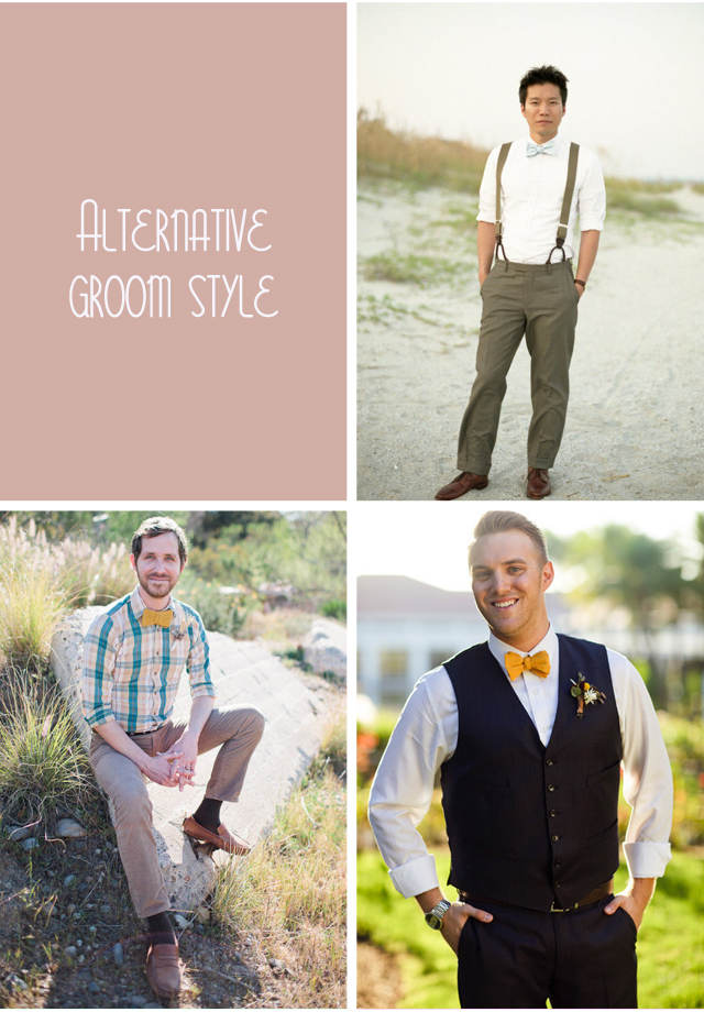 ALTERNATIVE GROOM STYLE