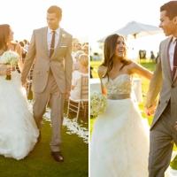 Una boda elegante al aire libre