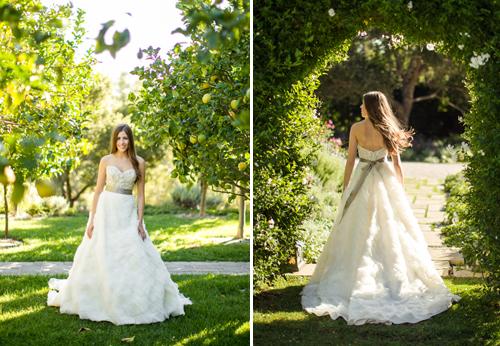 Boda elegante fotos vestido de la novia