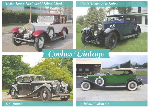 coches vintage clasicos boda