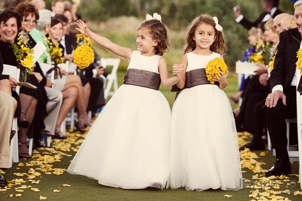 vestidos niñas para boda