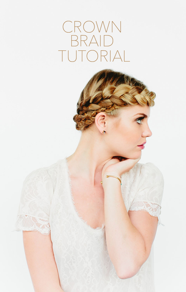 1 tutorial corona trenza peinado boda novia invitada