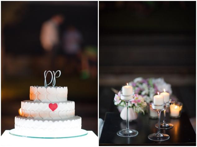 11 pastel de boda decoracion corazones