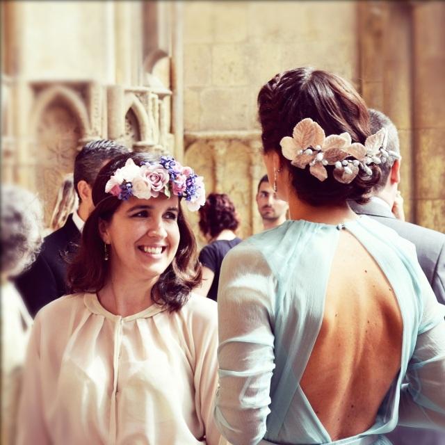 13  tocados novia invitadas boda Le touquet