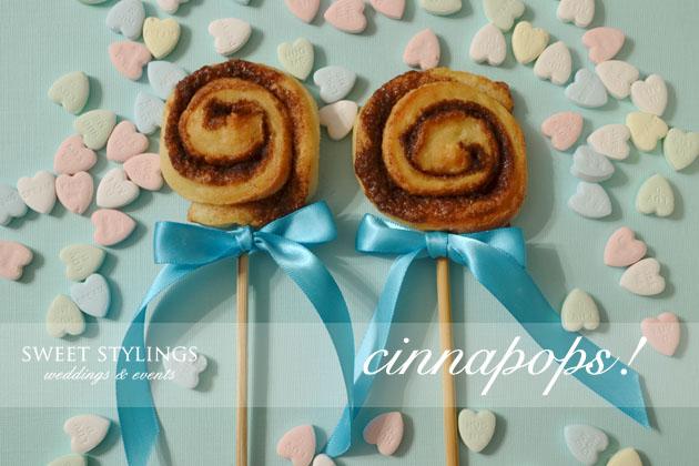 3 Alternativas al pastel de boda cinnamon rolls