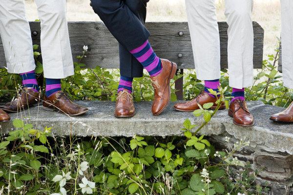 6 calcetines divertidos para novios