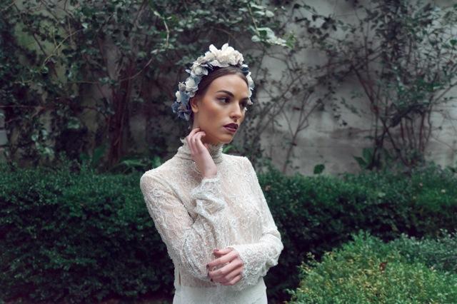 8  tocados novia invitadas boda Le touquet