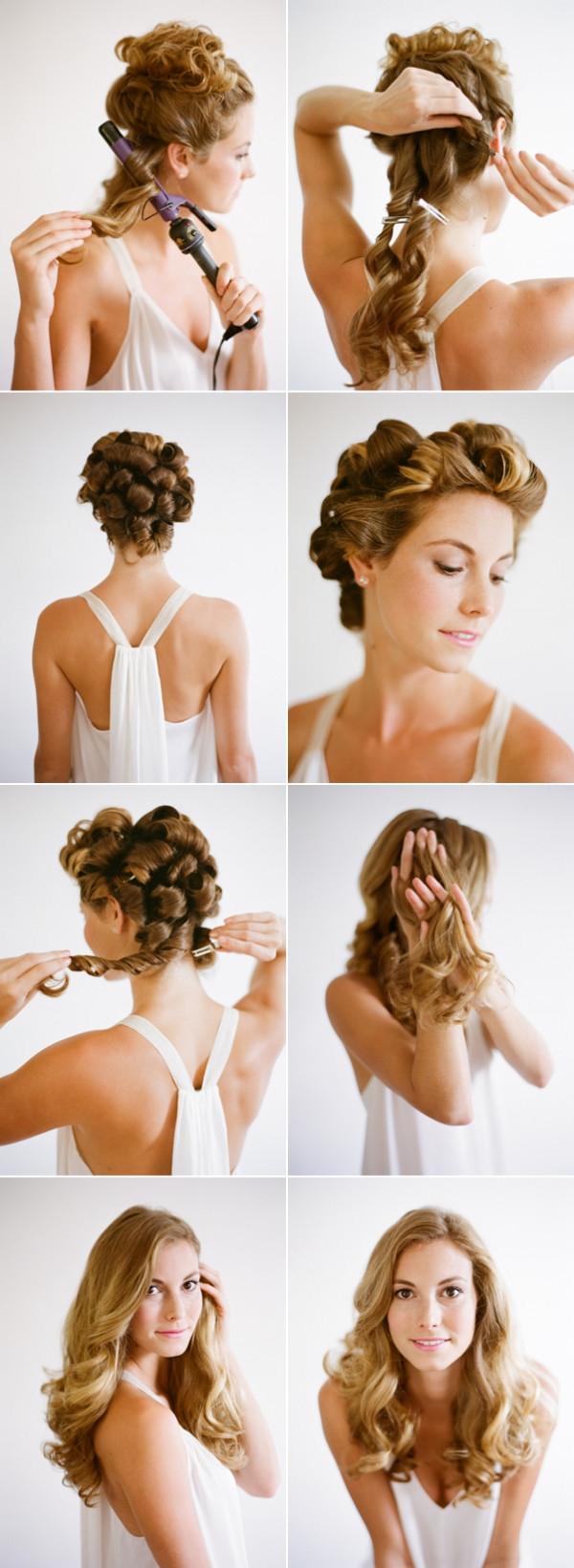 Tutorial Peinado Suelto Con Ondas Para Novias E Invitadas