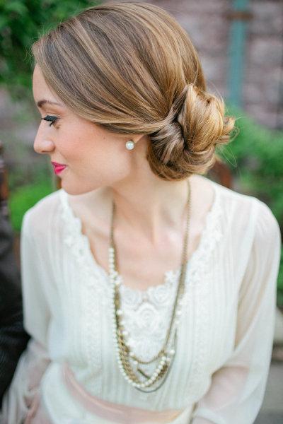 10 Boda Peinados para novias e invitadas