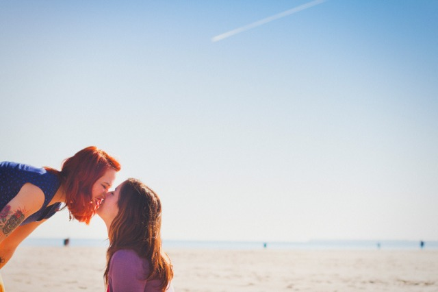 11 Sesion preboda en la playa chicas Paula G Furio