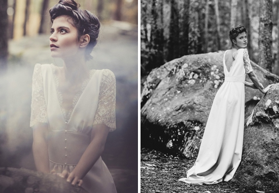 4 Vestidos bohemios novia Laure de Sagazan