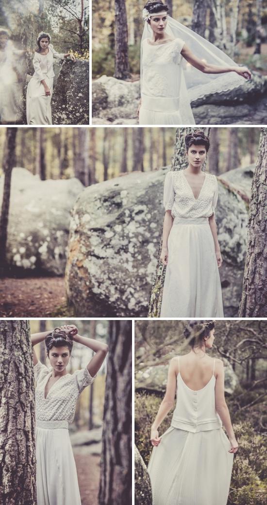 5 Vestidos bohemios novia Laure de Sagazan