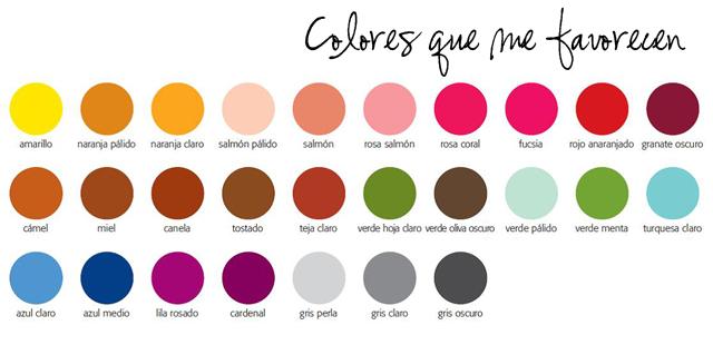 colores que me favorecen
