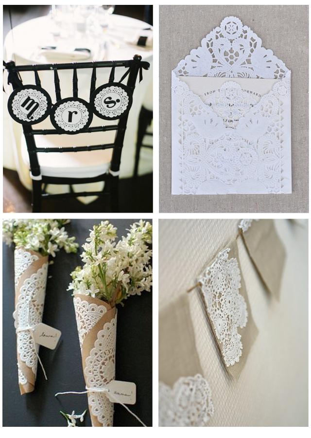 decora con blodas de papel tu boda