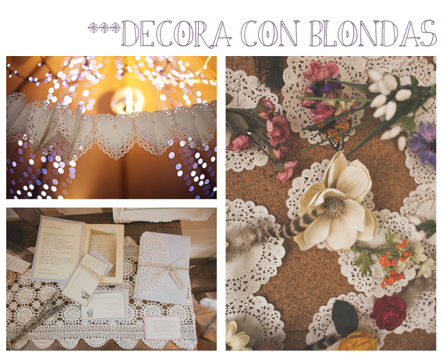 Decora tu boda con blonda