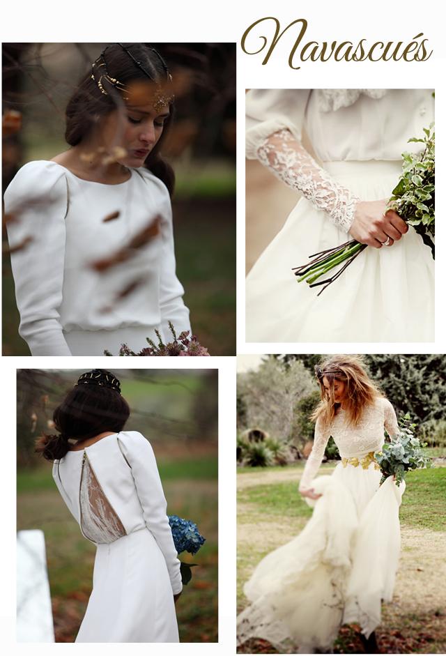 vestidos de novia Navacues