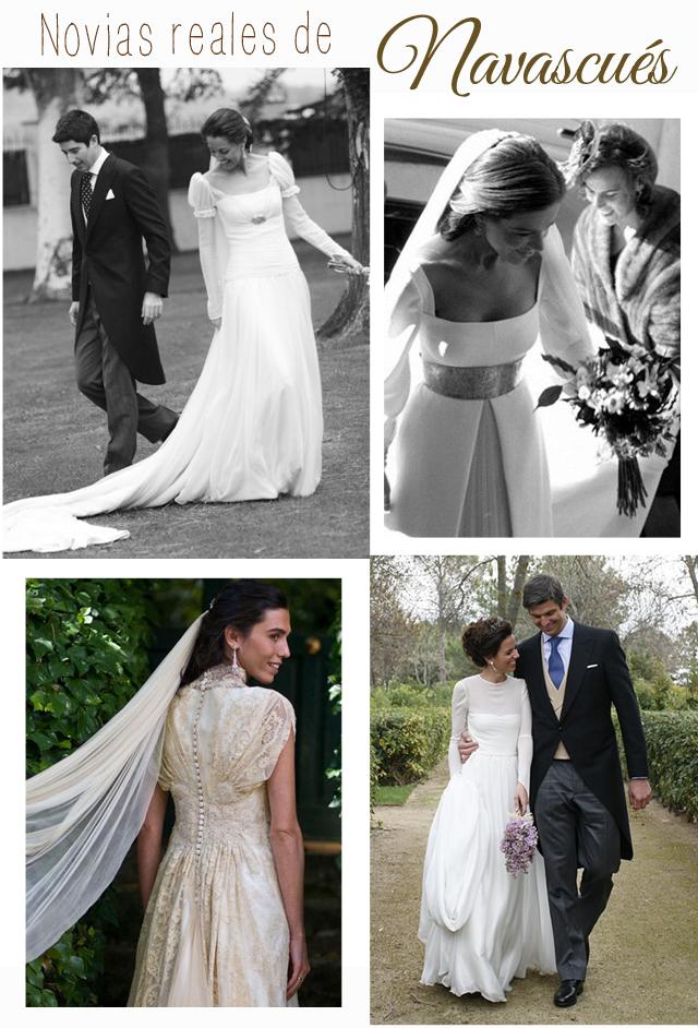 vestidos de novia reales Navacues