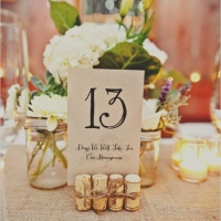 Una sencilla boda rústica