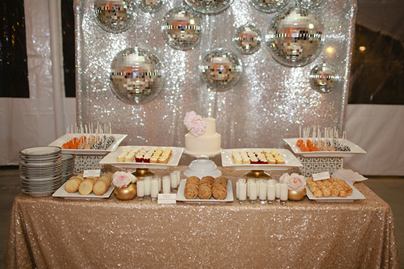 16 mesa de dulces candy bar