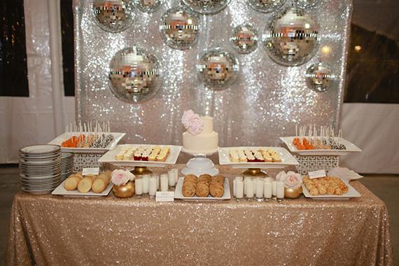 16 mesa de dulces candy bar