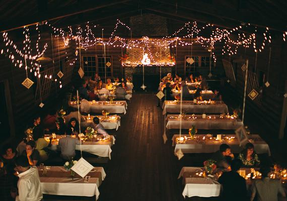 18 detalles banquete boda en el bosque
