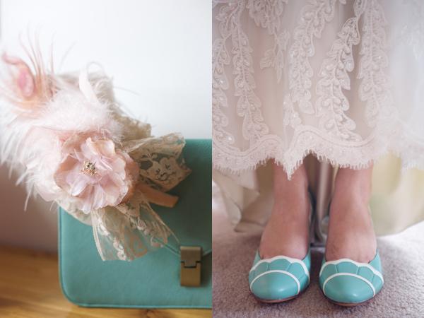 2 zapatos novia en mint